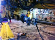 Grader Pivot Repair